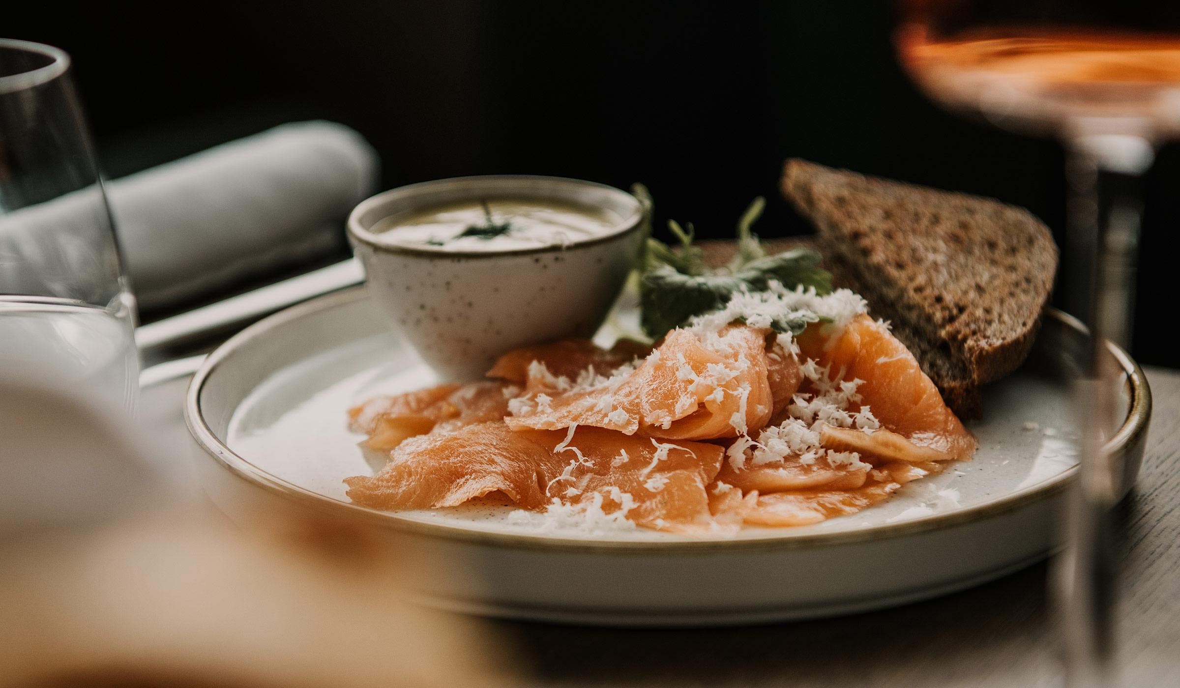 Hafenküche Restaurant frische Gerichte
