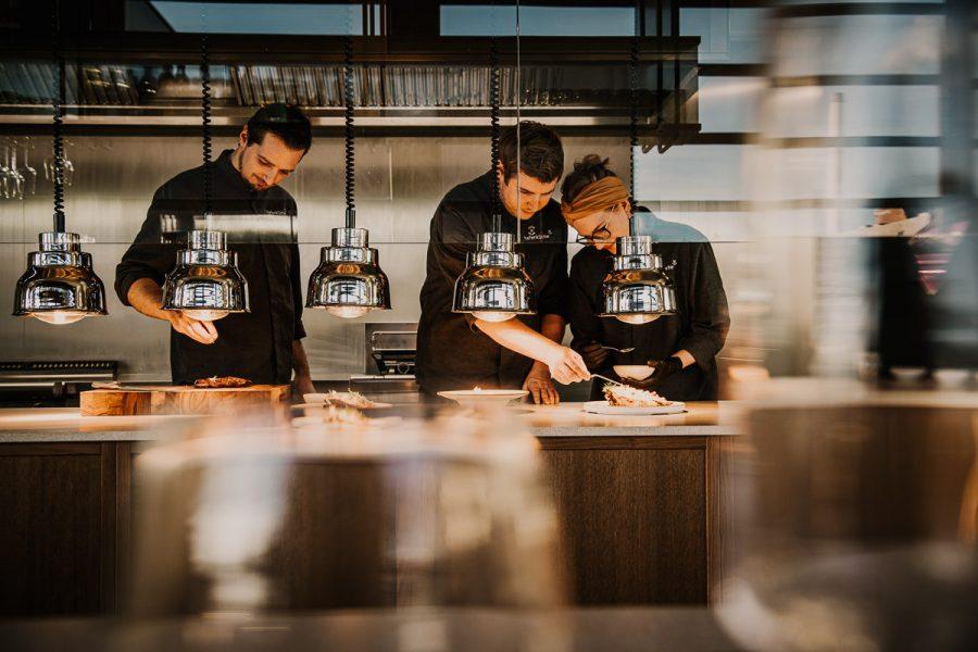 Hafenküche offene Küche